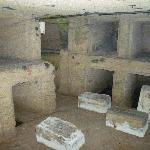 Inside the catacomb
