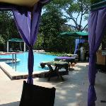 Pool with dining facilities
