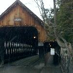 Local covered bridge