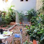 Sissi Haz breakfast area