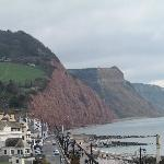 The lovely Sidmouth cliffs