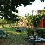 garden for large barn