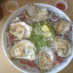 MMmmm!!! Oysters on the half shell
