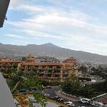 View of Tiede from our balcony.