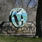Sign at the Visitor Center