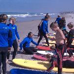 Surf school in Encinitas