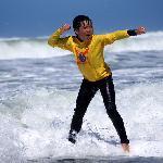 Moonlight beach surf lesson 2012
