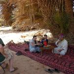 Berber Pizza in the Desert
