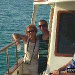 My wife Carolyn and son Jesse on the dinner cruise