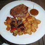 Grilled beef fillet - excellent!