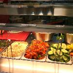 Maoz salad bar