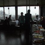 Beautiful restaurant overlooking Istanbul