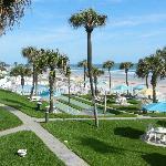 Hotel and Grounds overlooking Daytona Beach