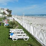 Hotel Grounds and Daytona Beach