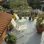 Hotel Milvia deck