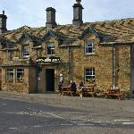 The Devonshire Arms across the road - super meals and beers