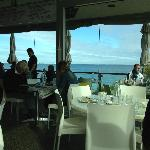 Great view and delicious food