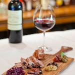 Wine and house-made charcuterie