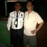 Nice security guard - Ray
