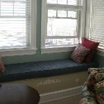 the window seat...loved reading here!