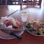 Gyro & Salad
