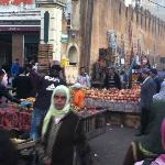 Old Medina fruit/vegetable stands