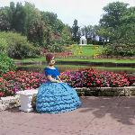 The Belles in Cypress Gardens Legoland are made of lego now.