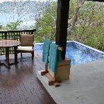 Terraza y alberca privada con vista espectacular..!