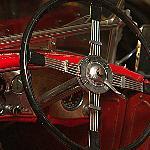 Cool steering wheel -- ground floor location