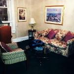 junior suite sitting area