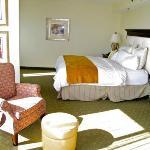 Larger corner suite