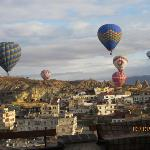 Balloons over Goreme in the morning