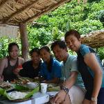 island hopping buffet lunch - with staff