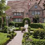 Blick in den Innenhofgarten