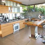 Die offene Küche