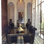 Downstairs in Riad