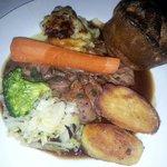 Roast dinner was perfect