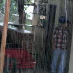 keiharde regen, snel opruimen....