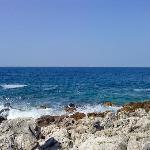 Beach before entering Kamenjak