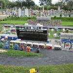 Daytona Speedway made from Legos