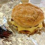 Cheese Burger w/Bacon