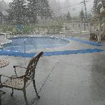open year round heated pool