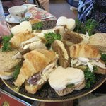 Perfectly delectable tea sandwiches
