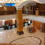 Lobby from business center