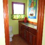 Rasta Cabana inside bathroom