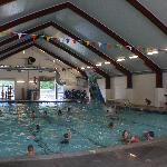 Year Round indoor pool fun