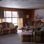 Comfortable, spacious living rooms