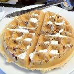 Pecan Waffle. I added the butter