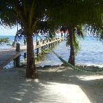 Honeymoon cabana porch view