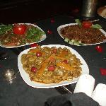 Morrocan banquet - the starter